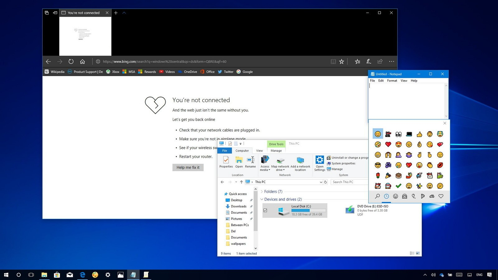 Microsoft Windows 10 Could Soon Upgrade Notepad And Edge